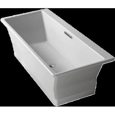 Ванна отдельностоящая прямоугольная чугунная REVE, Jacob Delafon