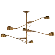 Люстра RL '67 Extra Large Triple Arm Chandelier