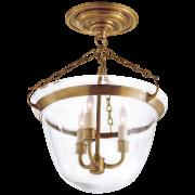 Люстра Country Semi-Flush Bell Jar Lantern