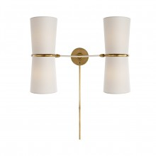 Бра CLARKSON DOUBLE SCONCE