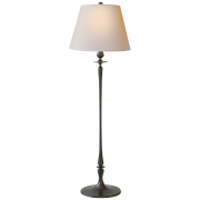 Торшер Rome Grande Floor Lamp in Bronze with Natural Paper Shade