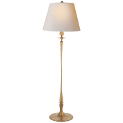 Торшер Rome Grande Floor Lamp in Gild with Natural Paper Shade