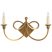 Бра Double Twist Two-Light Sconce