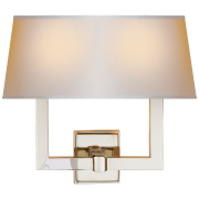 Бра Square Tube Double Sconce