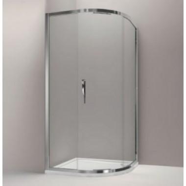 Дверь для душа с радиусным элементом TORSION на 800 мм, Jacob Delafon