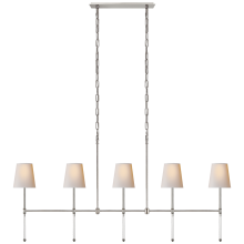 Люстра Camille Medium Linear Chandelier