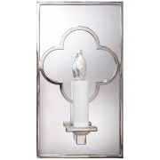 Бра Quatrefoil Rectangle Mirrored Sconce